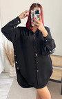 Ivy Oversized Shirt Dress Thumbnail