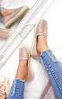 Izabel Diamante Embellised Espadrilles Thumbnail