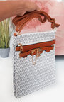 Jamie Patterned Shoulder Bag Thumbnail
