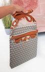 Jamie Patterned Shoulder Bag Thumbnail