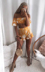 Jani High Waist Frill Shorts Thumbnail