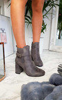 Janie Block Heel Buckle Ankle Boots Thumbnail