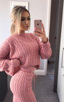 Jasmen Cable Knit Lounge Co-ord Thumbnail