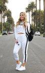 Jaxon Stripe Hooded Crop Tracksuit Thumbnail