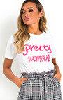 Jayden Pretty Woman Slogan Top Thumbnail