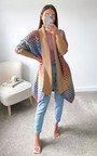 Jazzi Chunky Knitted Cardigan Thumbnail