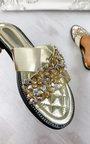 Jen Crossover Embellished Sandals Thumbnail