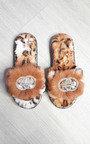 Jen Faux Fur Slippers Thumbnail