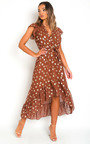 Jen Polka Dot Maxi Dress Thumbnail