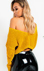 Jennah Plunge Back Knitted Jumper Thumbnail