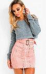 Jennah Plunge Back Knitted Jumper Thumbnail