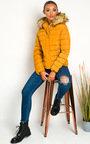 Jennifer Padded Faux Fur Hood Puffer Jacket Thumbnail