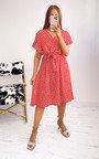 Jenny Floral Midi Dress Thumbnail