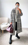 Jessica Dogtooth Printed Coat Thumbnail