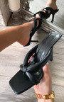 Jessica Toe Post Strappy Heels Thumbnail