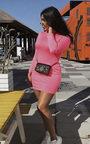 Jinny High Neck Mini Dress Thumbnail