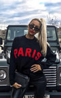 Jodi Slogan Oversized Jumper Thumbnail