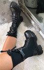 Jorgie Faux Leather Long Boots Thumbnail