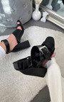Josie Buckle Peep Toe Heels Thumbnail