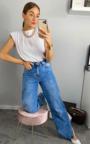 Joslin High Waist Wide Leg Jeans Thumbnail