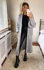 Joslin Oversized Knitted Maxi Cardigan Thumbnail