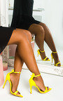 Joss Pointed Barely There Heels Thumbnail