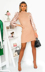Joy Ribbed Jumper Dress Thumbnail
