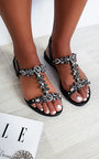 Jude Strappy Jewel Embellished Sandals Thumbnail