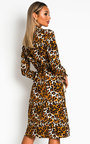 Jules Printed Shirt Midi Dress Thumbnail