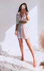 Julia Striped Shirt Dress Thumbnail