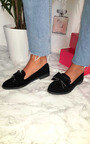 Julie Faux Suede Bow Brogue  Thumbnail