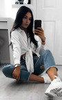 Kadi Tie Front Long Sleeve Shirt Thumbnail