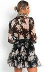 Kaggie Floral Shirt Dress Thumbnail