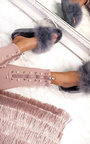Kalisa Faux Fur Feather Sliders Thumbnail