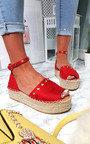 Kandi Studded Espadrille Flatform Sandal Thumbnail