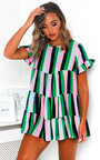 Karla Frill Shift Dress Thumbnail