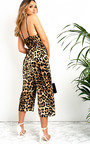 Karly Stretch Print Jumpsuit Thumbnail