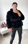 Lauren Faux Fur Coat Thumbnail