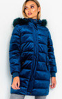 Kat Long-Lined Sleeved Puffer Coat Thumbnail