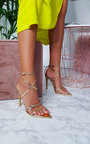 Katie Strappy Pointed High Heels  Thumbnail