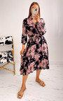 Katrina Printed Midi Dress Thumbnail