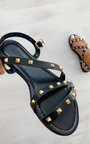 Katya Strappy Studded Sandals Thumbnail