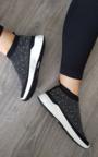 Kay Diamante Embellished Sock Trainers Thumbnail
