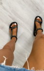 Kaya Strappy Chain Sandals Thumbnail