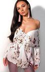 Kaydence Floral Kimono Wrap Top Thumbnail