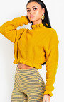 Kaylin Knitted Cropped Jumper Thumbnail