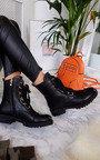 Keeks Lace Up Biker Boots Thumbnail