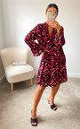 Kellie Printed Smock Dress Thumbnail