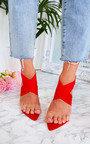 Kelsey Stretch Strap Slip On Heel Thumbnail