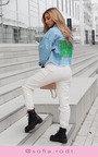 Kelsie Cuffed Cargo Trousers Thumbnail